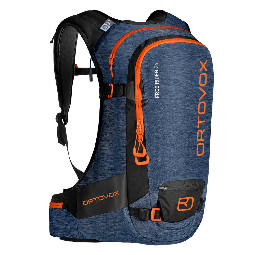 3cc499c96220 ORTOVOX - Free Rider 24L Touring Backpack night blue blend at Sport ...