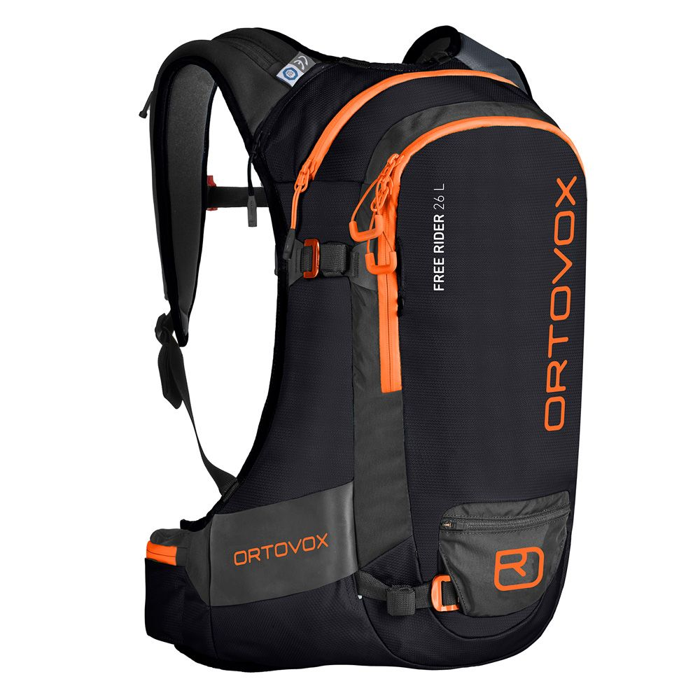 3a207477514c ORTOVOX - Free Rider 26L Touring Backpack black raven at Sport Bittl ...