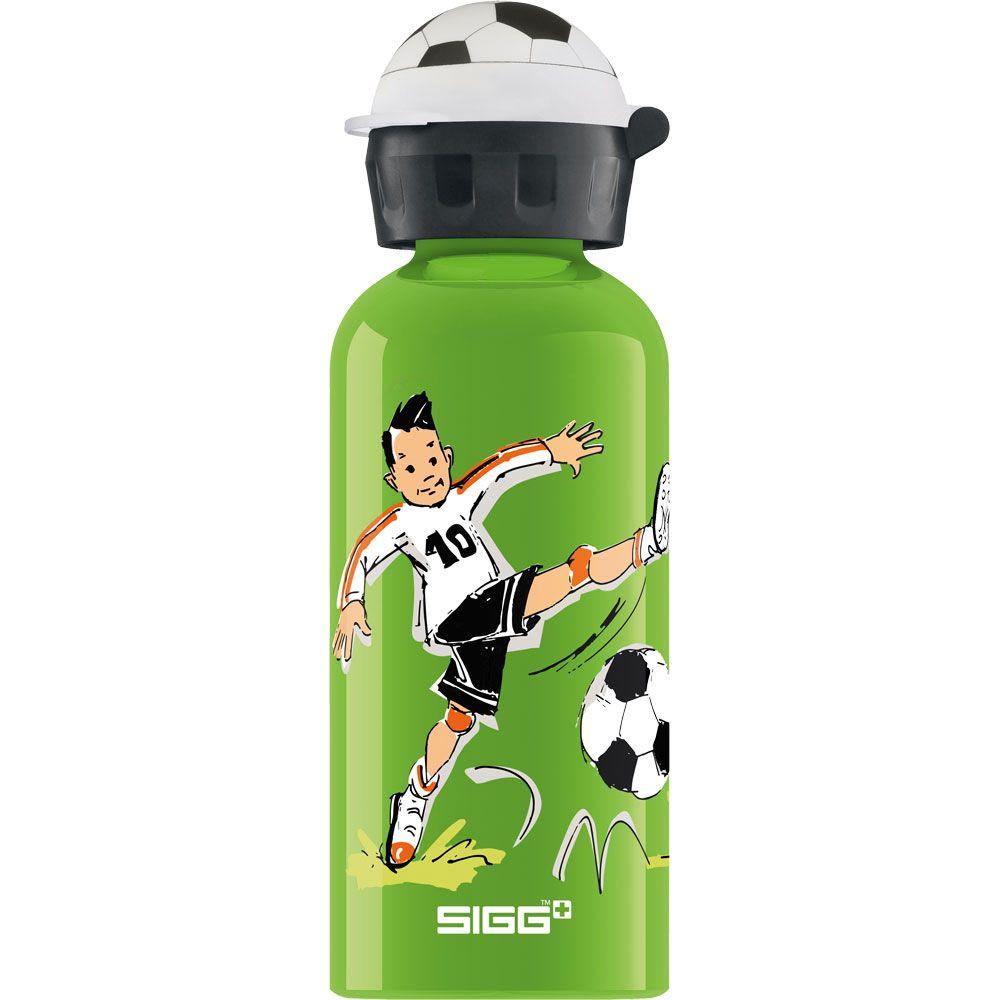 Footballcamp 0.4l Trinkflasche Kinder grün