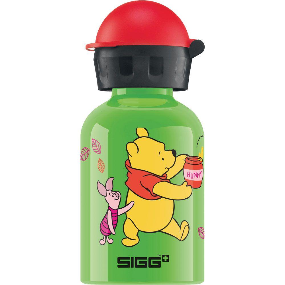 Winnie the Pooh 0.3l Trinkflasche Kinder grün