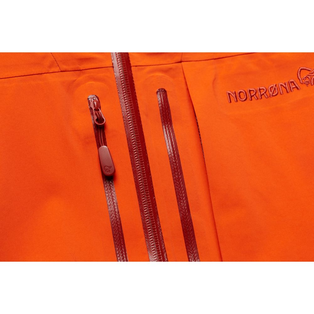 lofoten GTX Pro Hardshell Jacket Men scarlet ibis