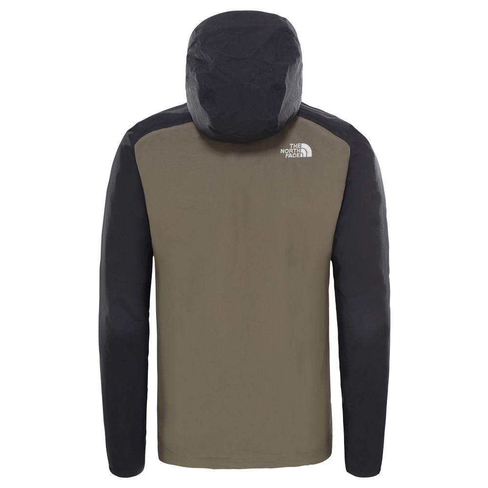 The North Face® Stratos Hardshelljacke Herren taupe black khaki