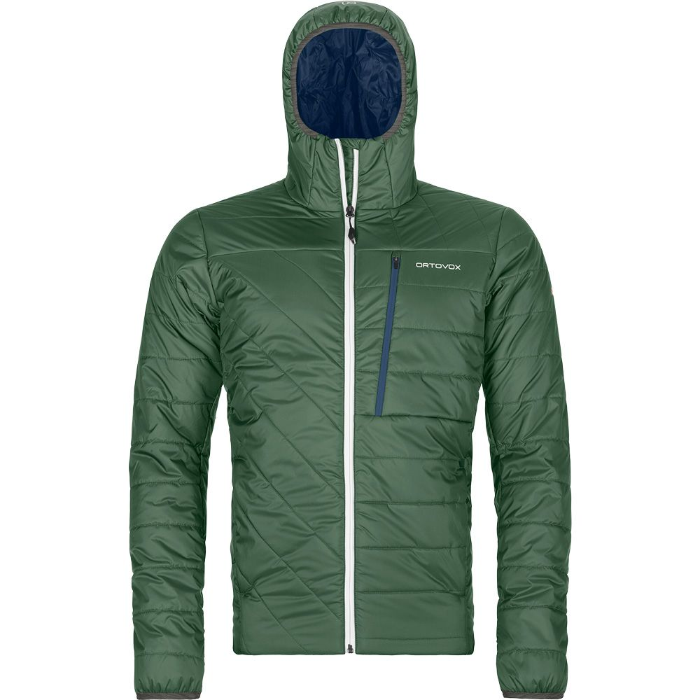 Swisswool Piz Bianco Insulating Jacket Men green forest