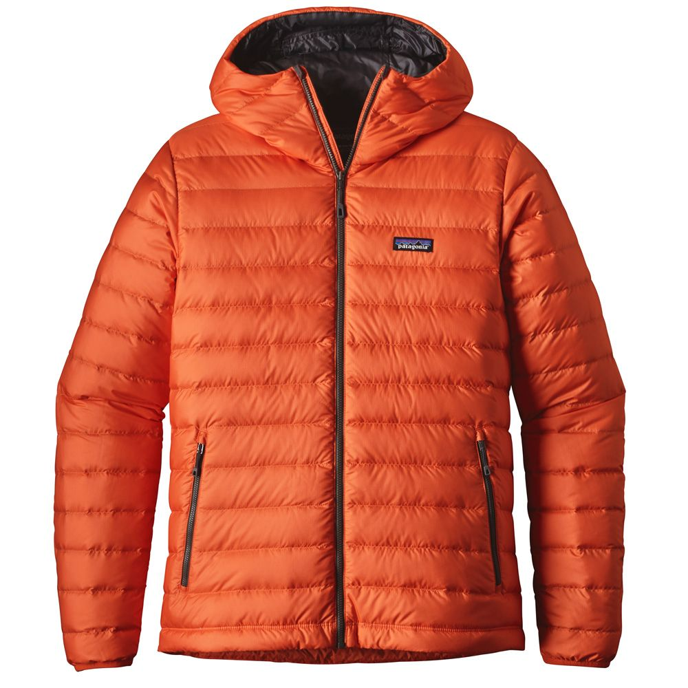 Patagonia Down Sweater Hoody Men cusco orange at Sport