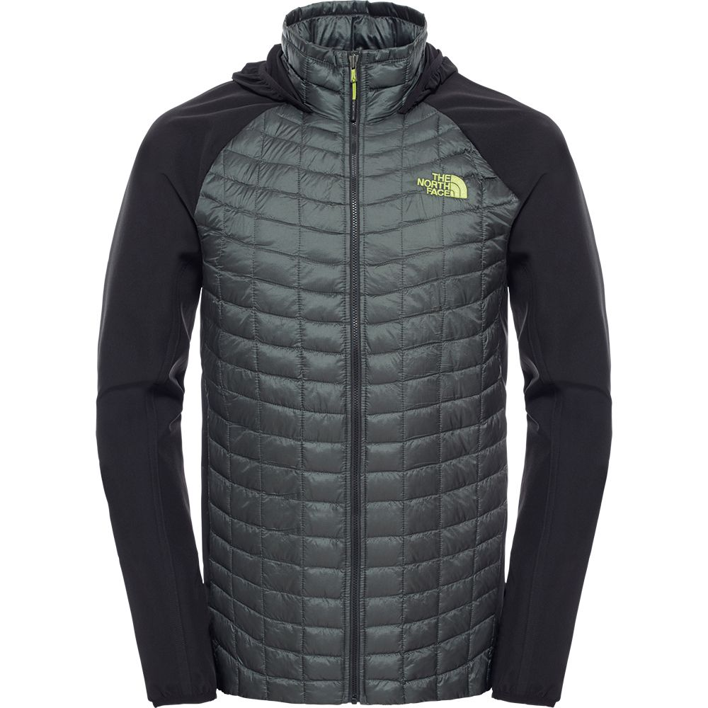 975dc5e1d6b8 The North Face® - Thermoball Hybrid Hoodie Men spruce green at Sport ...
