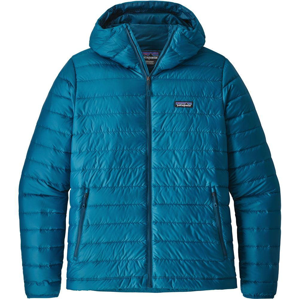 Patagonia Down Sweater Hoody Down Jacket Men Balkan Blue At Sport