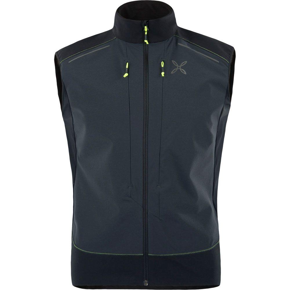 32787fcd8d8ae Montura - Sky Race Weste Herren grau schwarz kaufen im Sport Bittl Shop