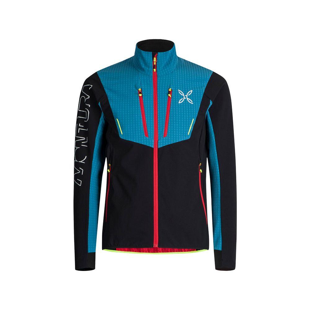 Style Blu Ottanio Nero Montura Jacket Softshell Ski Men zqpVMSUG