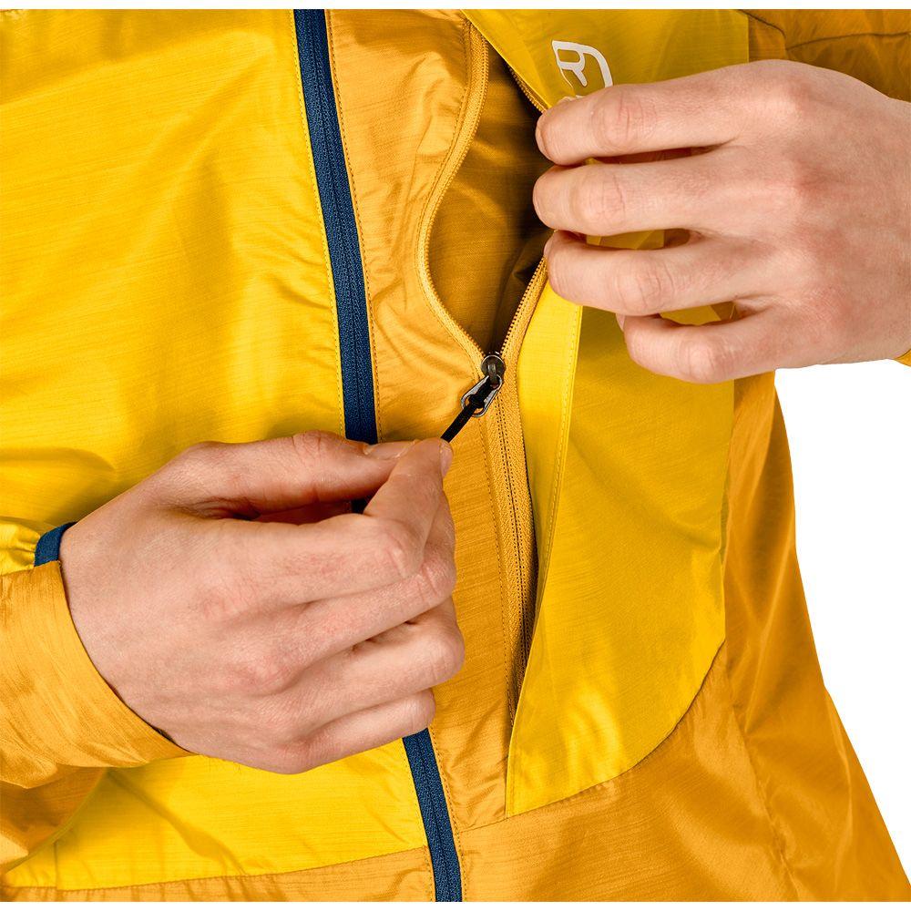 ORTOVOX Merino Windbreaker Jacke Herren yellowstone kaufen