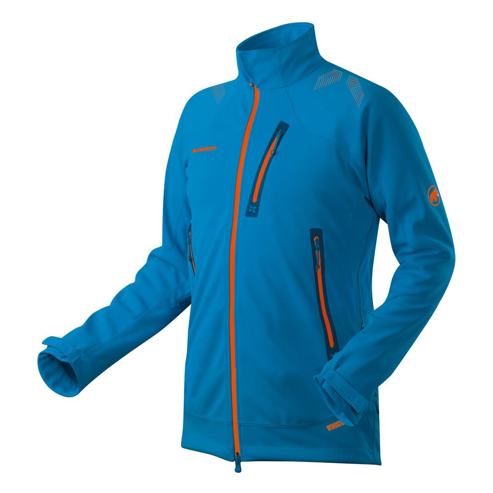 wholesale dealer c605f 33bd0 Mammut - Ultimate Nordpfeiler Softshelljacke Herren cyan at ...
