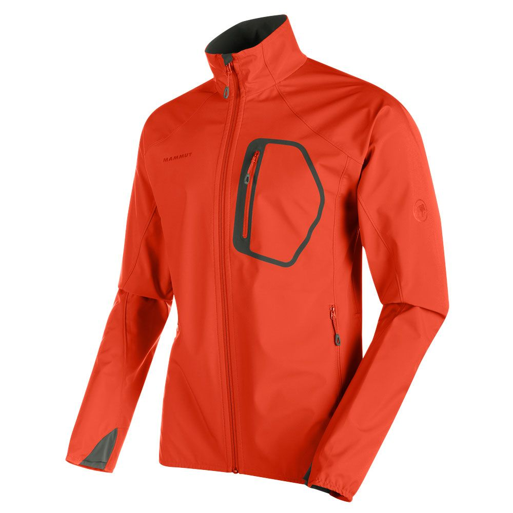 san francisco 6e859 ed7ef Mammut - Ultimate Light Softshelljacke Herren dark orange