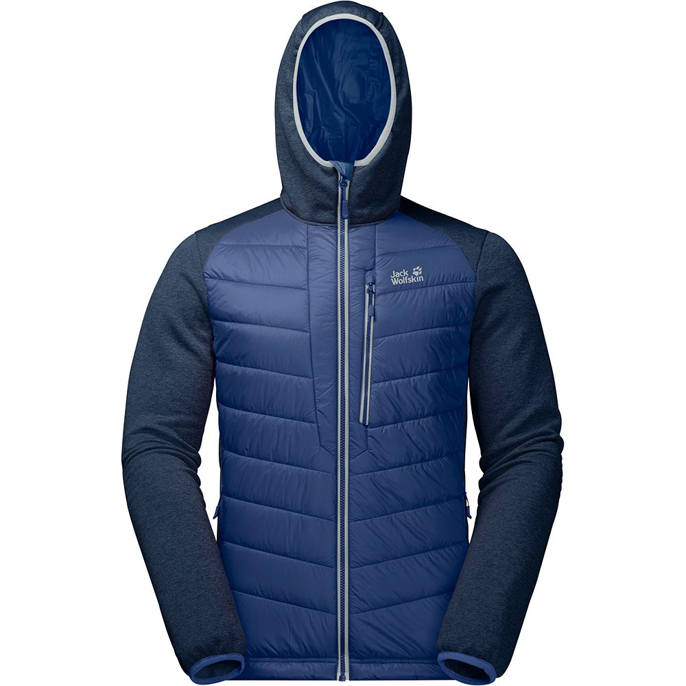 Sport Jack Wolfskin Skyland Hooded Jacket Herren royal blue