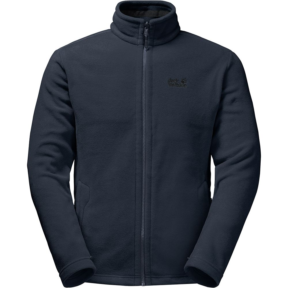 besser neuesten Stil von 2019 100% authentisch Jack Wolfskin - Moonrise Fleece Jacket Men night blue at ...