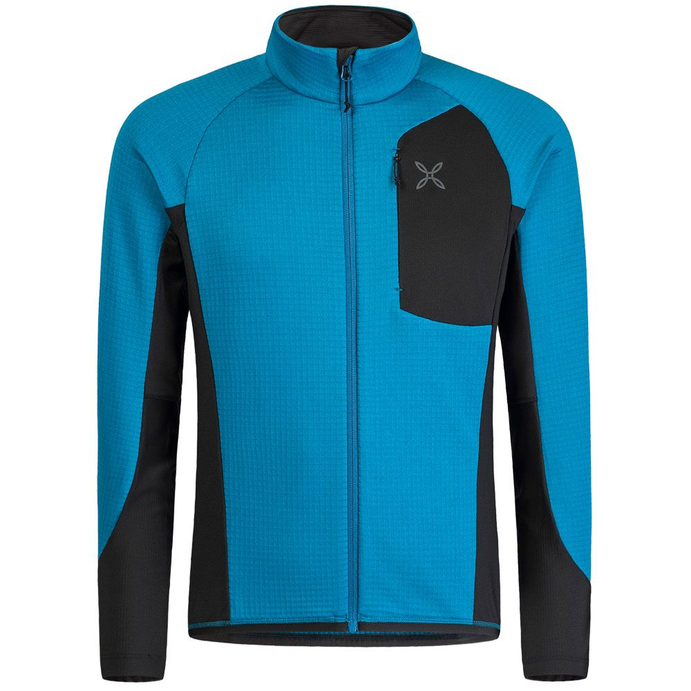 Stretch Pile Element Fleece Jacket Men blue