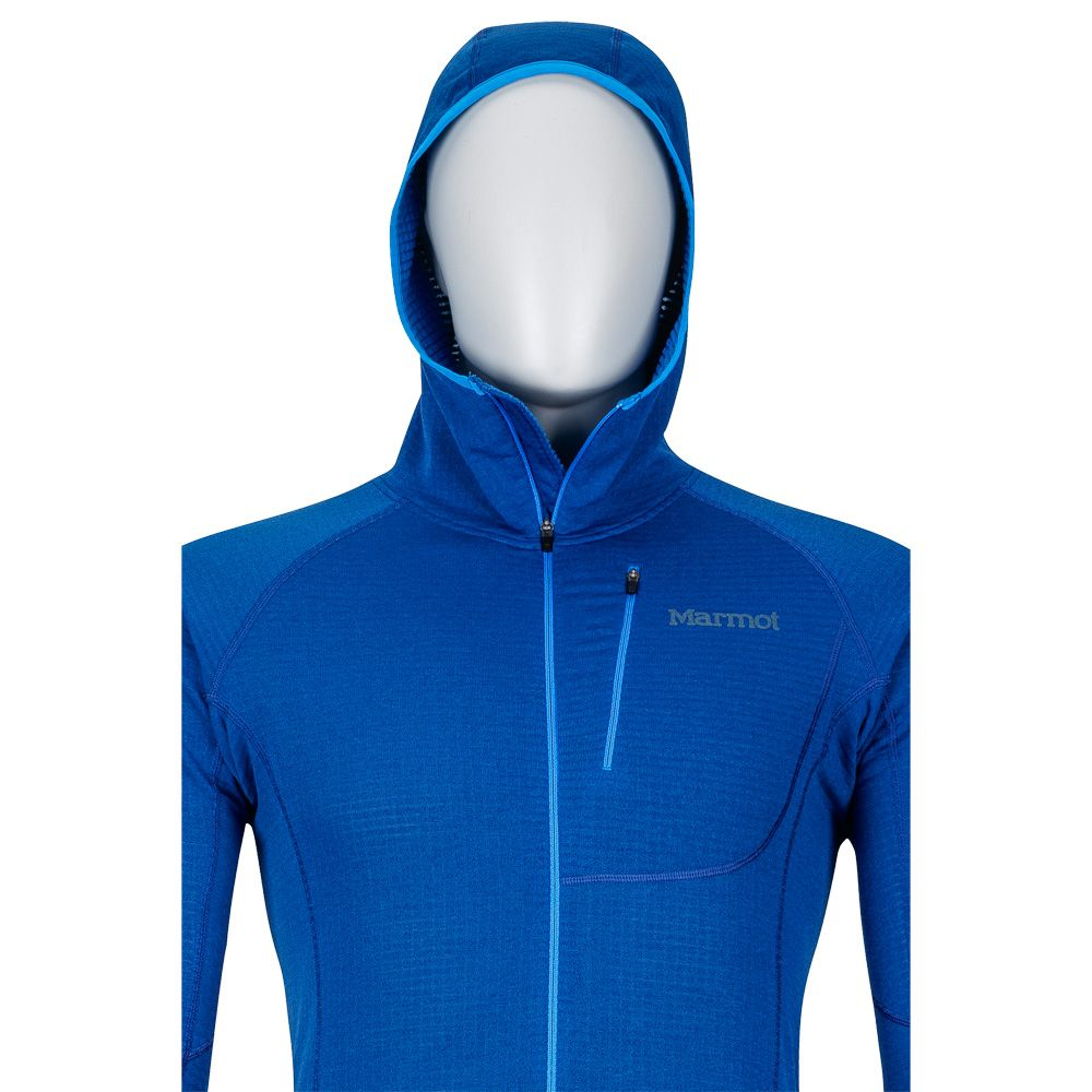 e1e09fd03 Marmot - Neotherm Fleece Jacket Men dark cerulean at Sport Bittl Shop