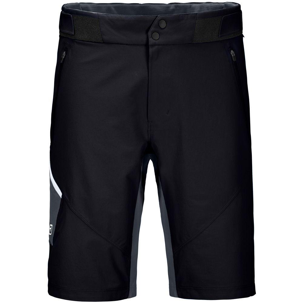 Men Shorts Black Raven Brenta Ortovox DWH29EIY