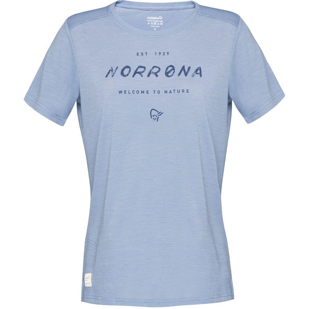 Svalbard Wool T-Shirt Women coronet blue