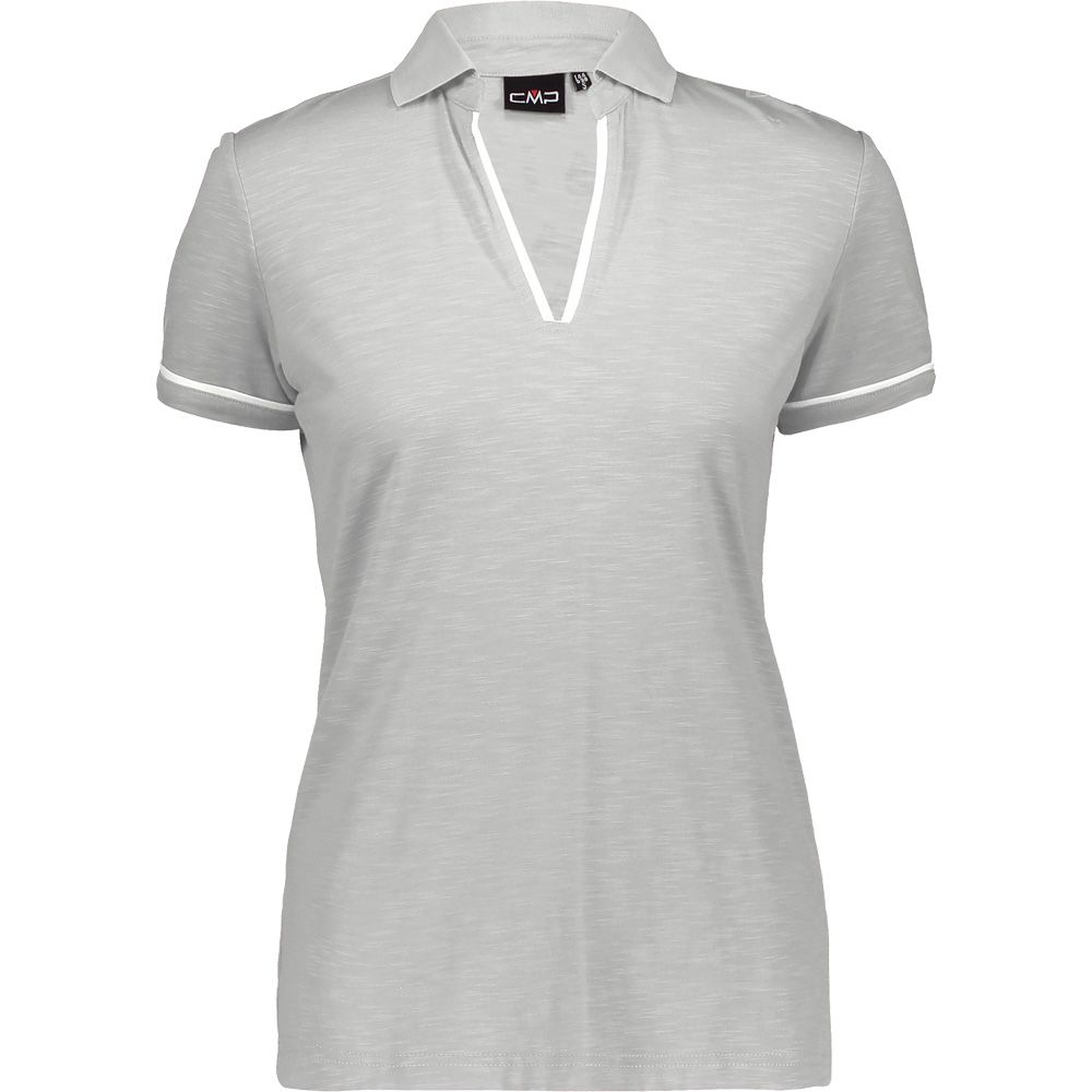 Damen Poloshirt T-Shirt von CMP mit integrierterm UV-Schutz UPF40