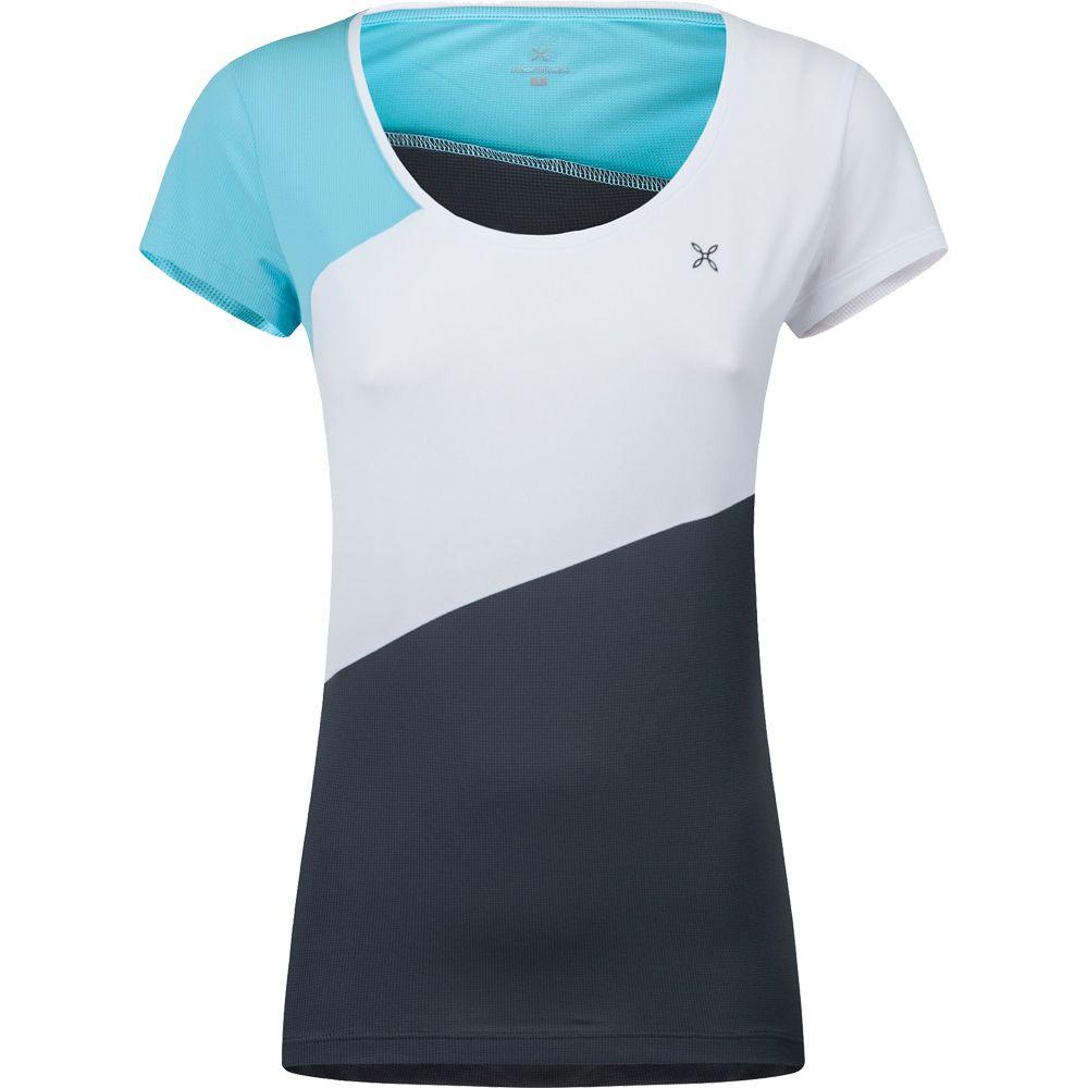 Outdoor Style T-Shirt Damen piombo ice blue