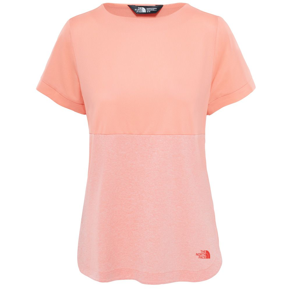 reputable site 635ac da061 The North Face® - Inlux T-Shirt Women desert flower ornage heather