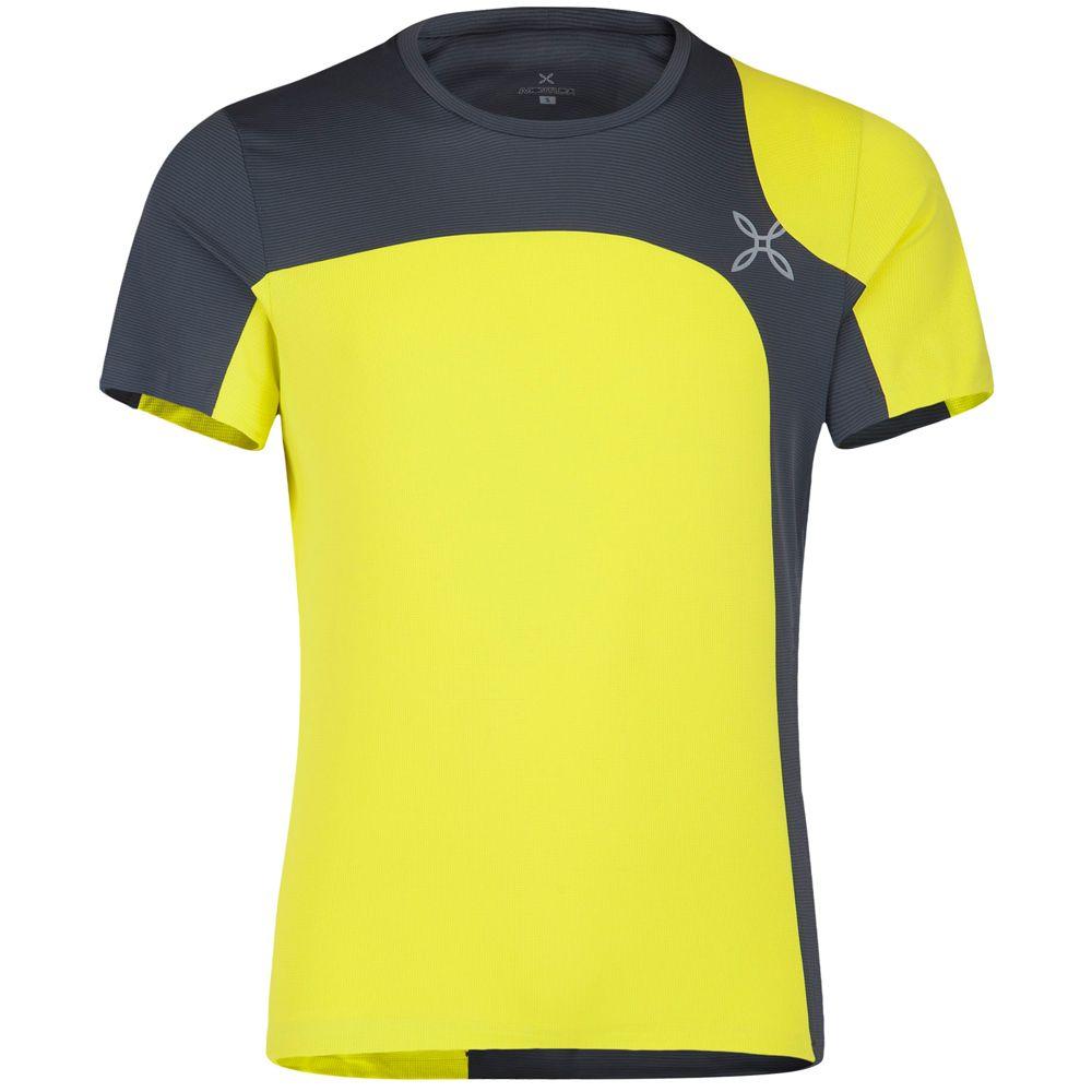 Outdoor Style T-Shirt Men giallo zolfo piombo