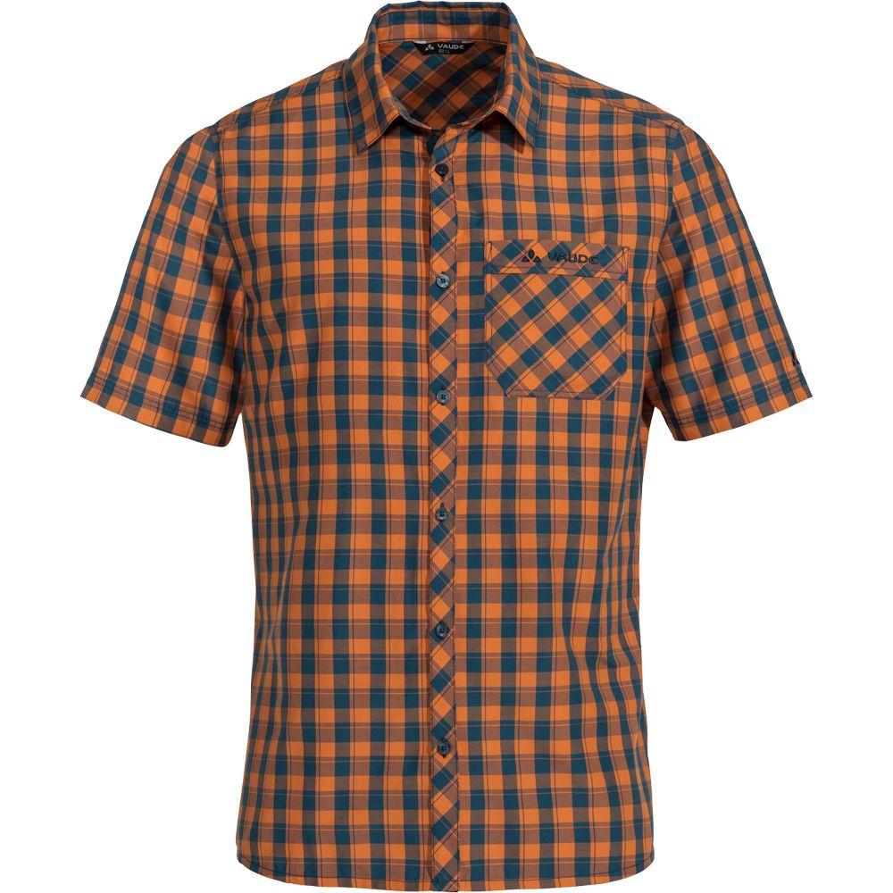 free shipping d1ff1 6b024 VAUDE - Men's Sonti III Hemd Kurzarm Herren orange madder