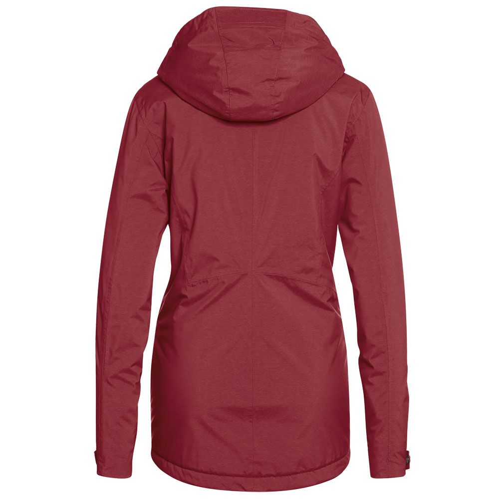 Carpegna Inzip Winterjacke Damen red dahlia