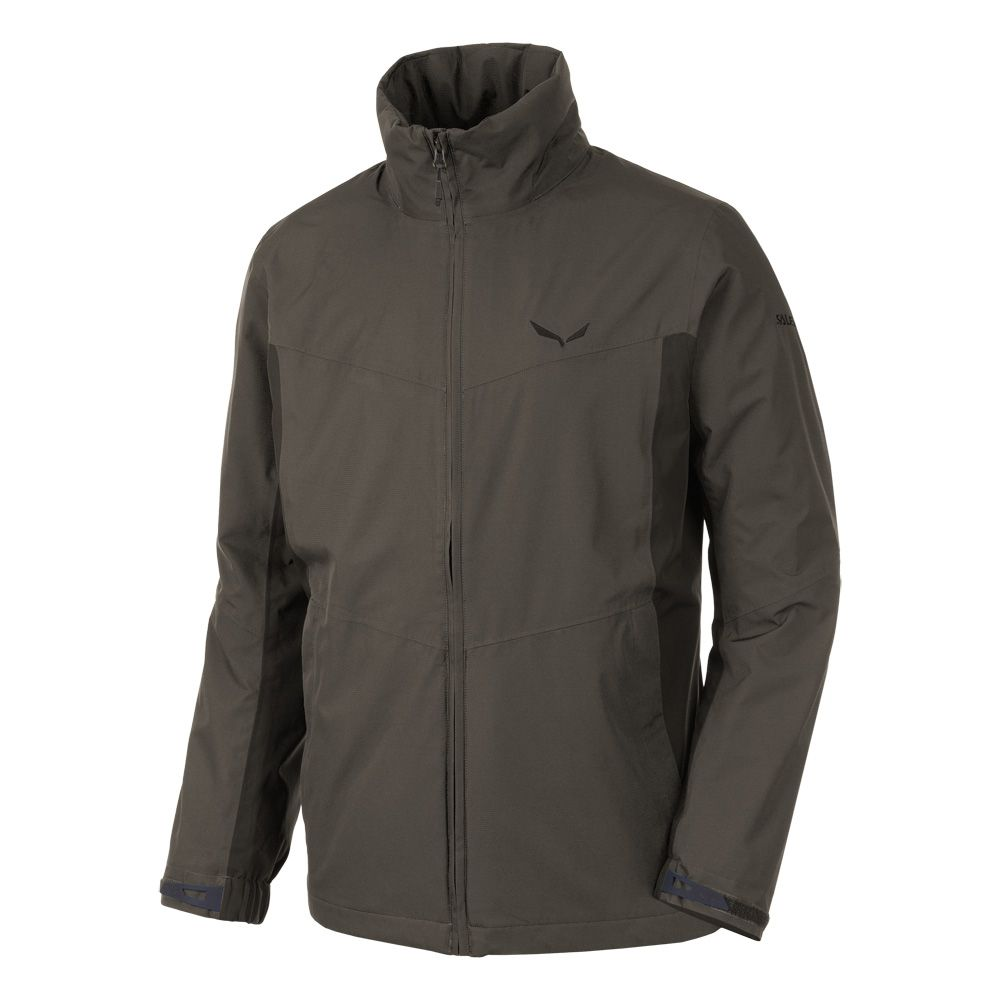 bf7d18cd SALEWA - Funes PTX Hardshell Jacket Men black olive at Sport Bittl Shop