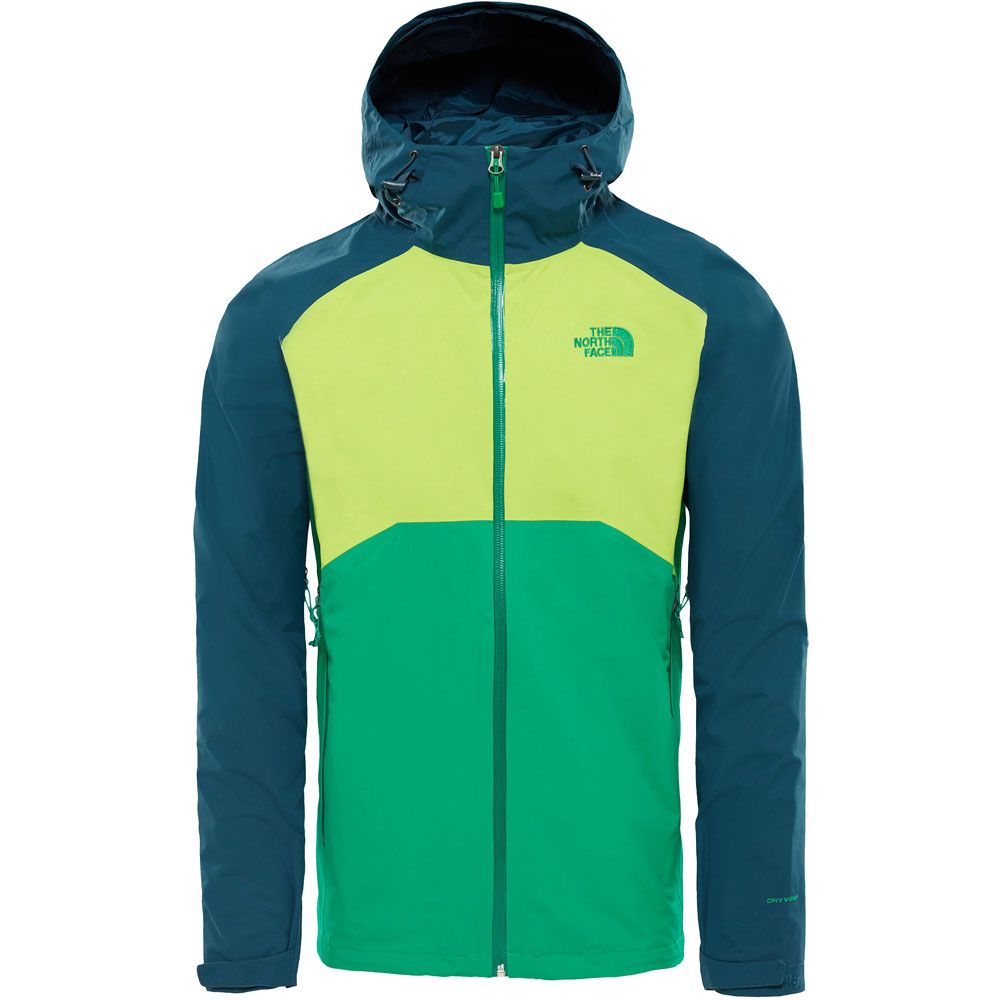 The North Face® Stratos Hardshell Jacket Men primary green