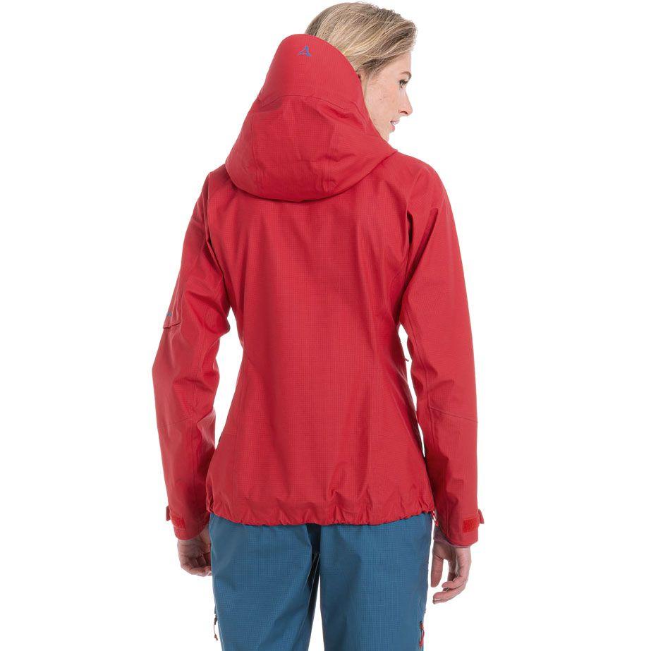 3L Annapolis 2 Hardshell Jacket Women hibiscus
