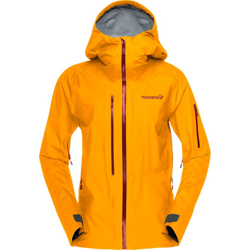 lofoten GTX Active Hardshelljacke Damen orange crush