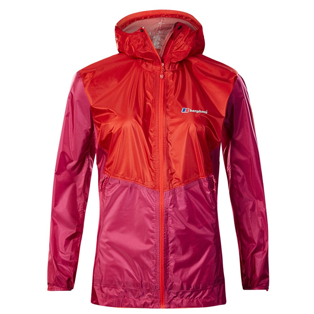 timeless design 14089 728b0 Berghaus - Fast Hike Hardshell Jacke Women pink red