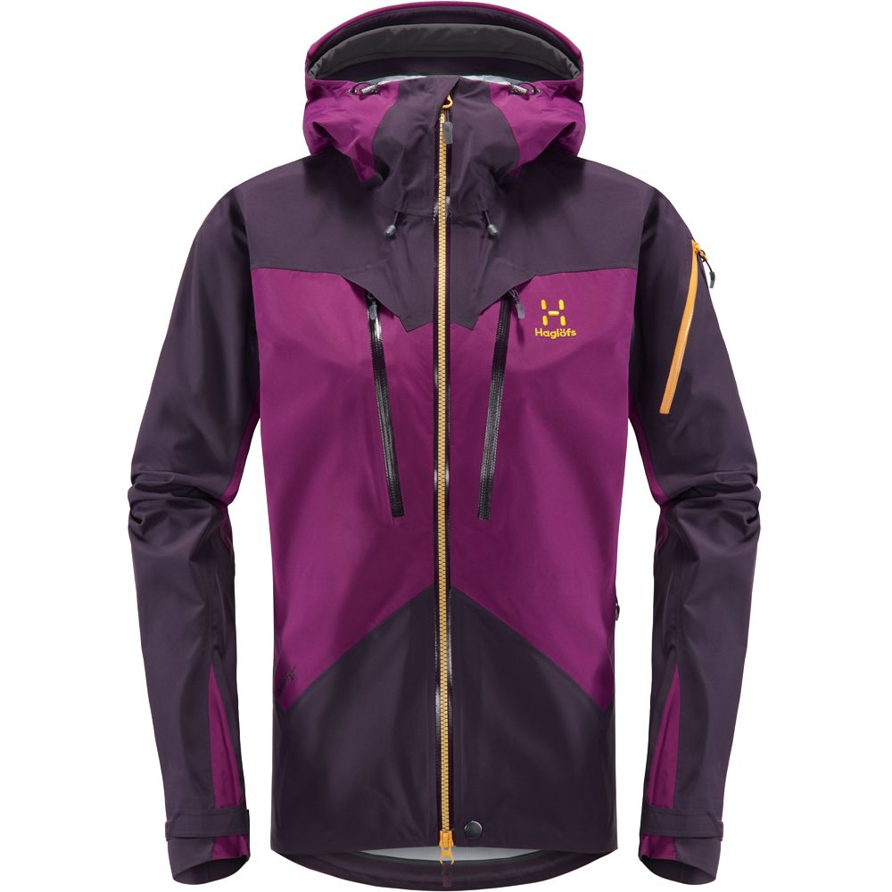 Berry Jacket Lilac Haglöfs Spitz At Hardshell Acai Women bYyf7g6