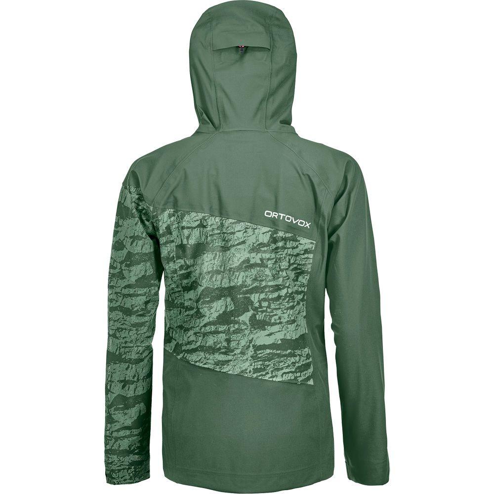 3L Guardian Shell Jacket Women green forest