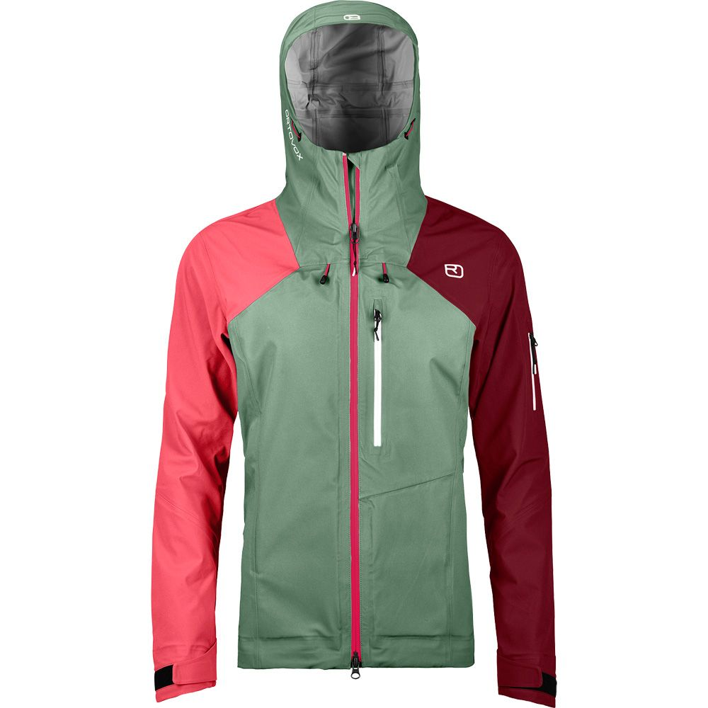 3L Ortler Jacket  Women green isar