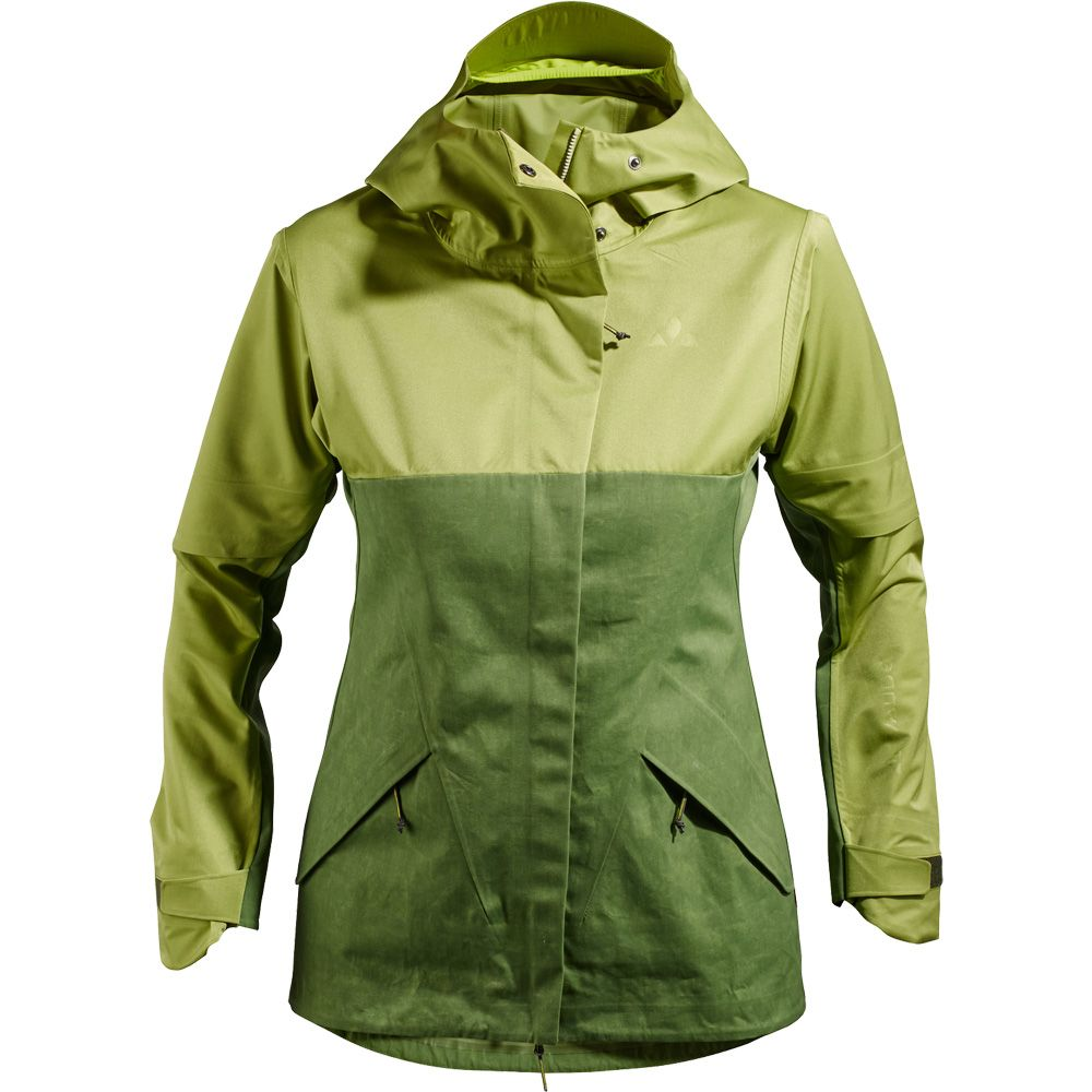 another chance 65ef7 3d946 VAUDE - Green Core 3L Jacket Women mossy green at Sport ...