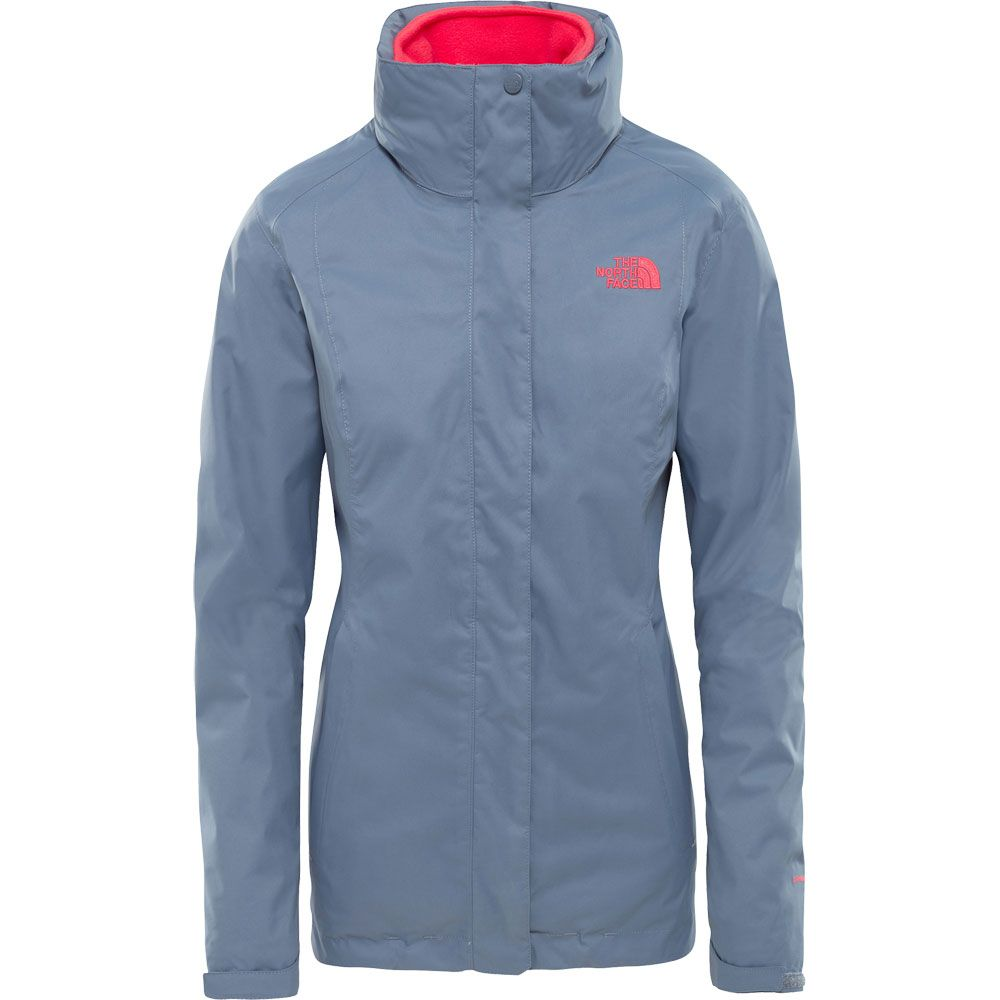 9731cb93d26 The North Face® - Evolve II Triclimate Hardshell Jacket Women grau ...