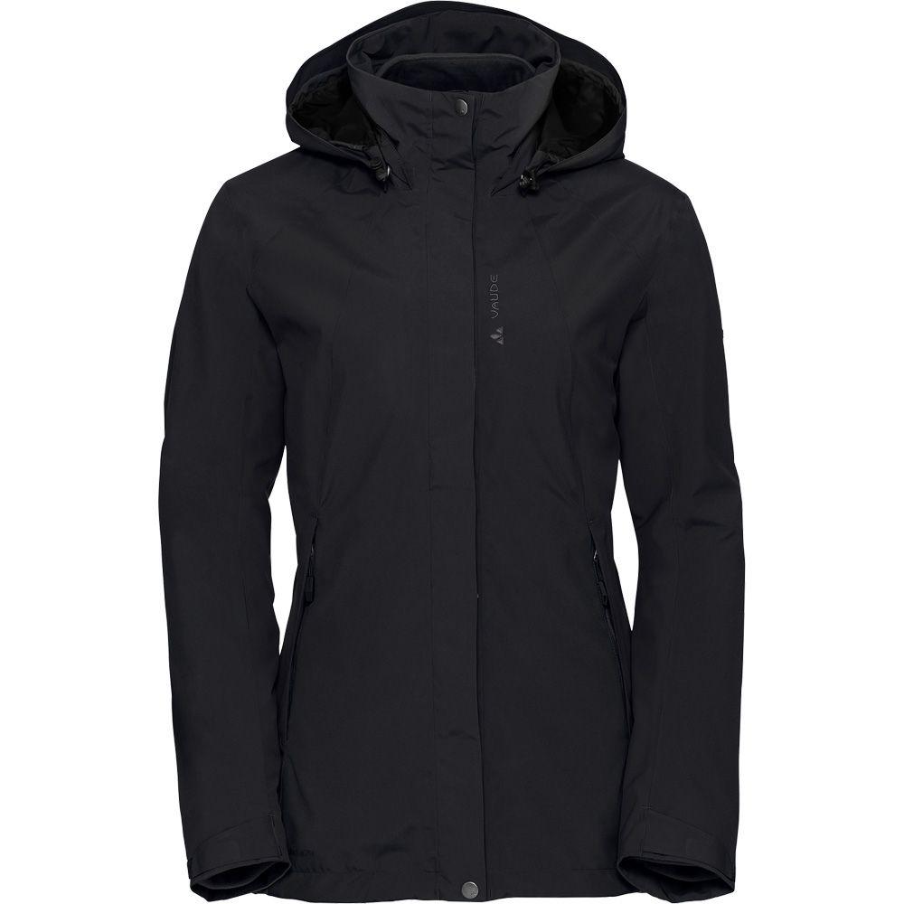 50d429b42ba6 VAUDE - Kintail 3 in 1 Jacket Women black at Sport Bittl Shop