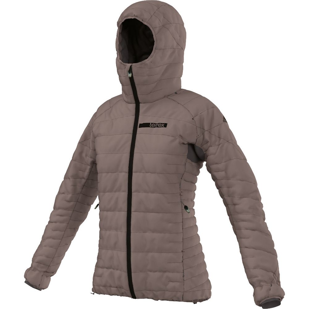 adidas TX Climaheat Agravic Down Jacket Damen tech earth