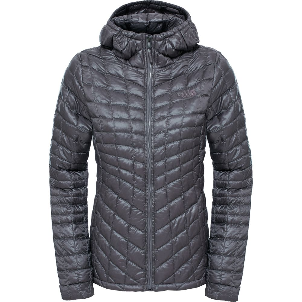 40ddfe979 The North Face® - Thermoball™ Hoodie Women rabbit grey at Sport ...