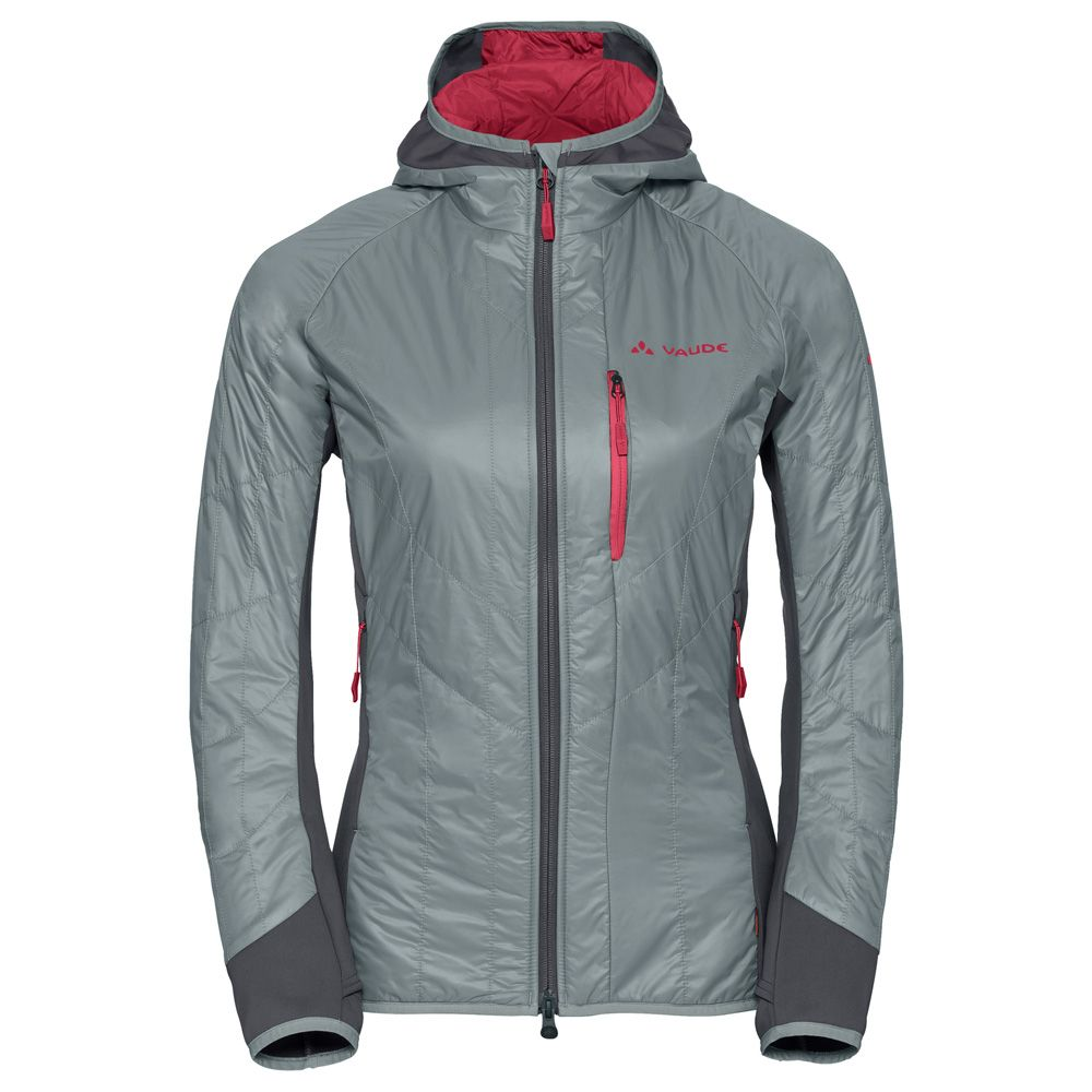 best sneakers ec0dd 9a186 VAUDE - Sesvenna PrimaLoft® Jacket Women peweter grey at ...