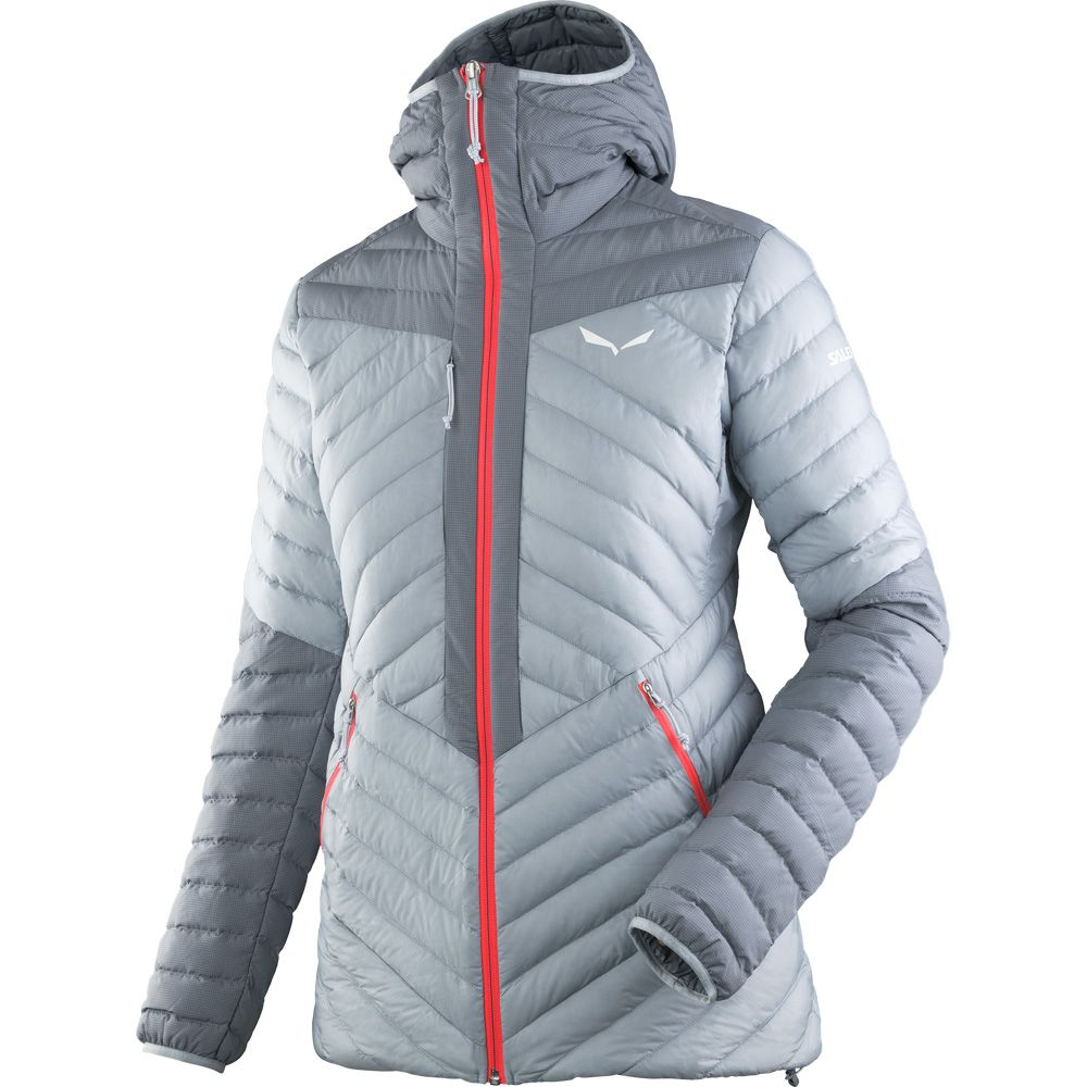 93b0cca702 SALEWA - Ortles Light 2 Down Jacket Women flint stone at Sport Bittl ...