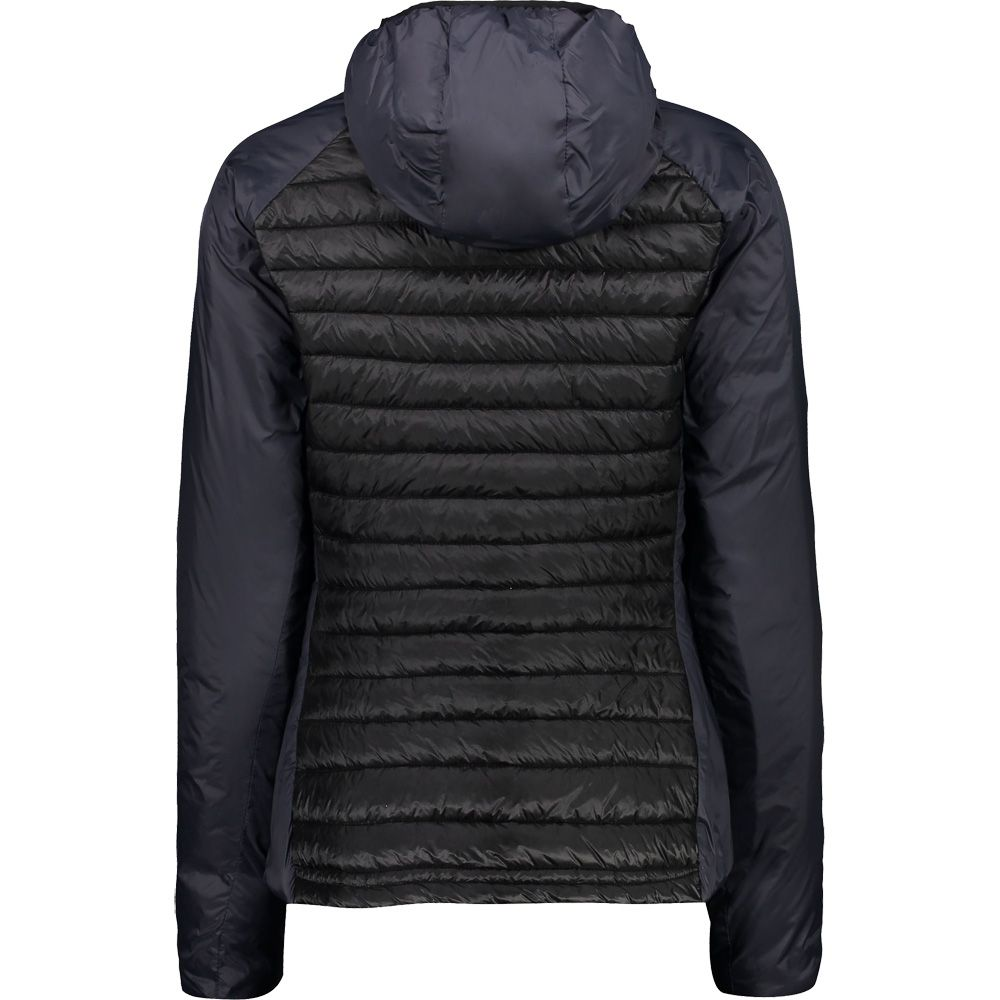 CMP Zip Hood Isolationsjacke Damen nero