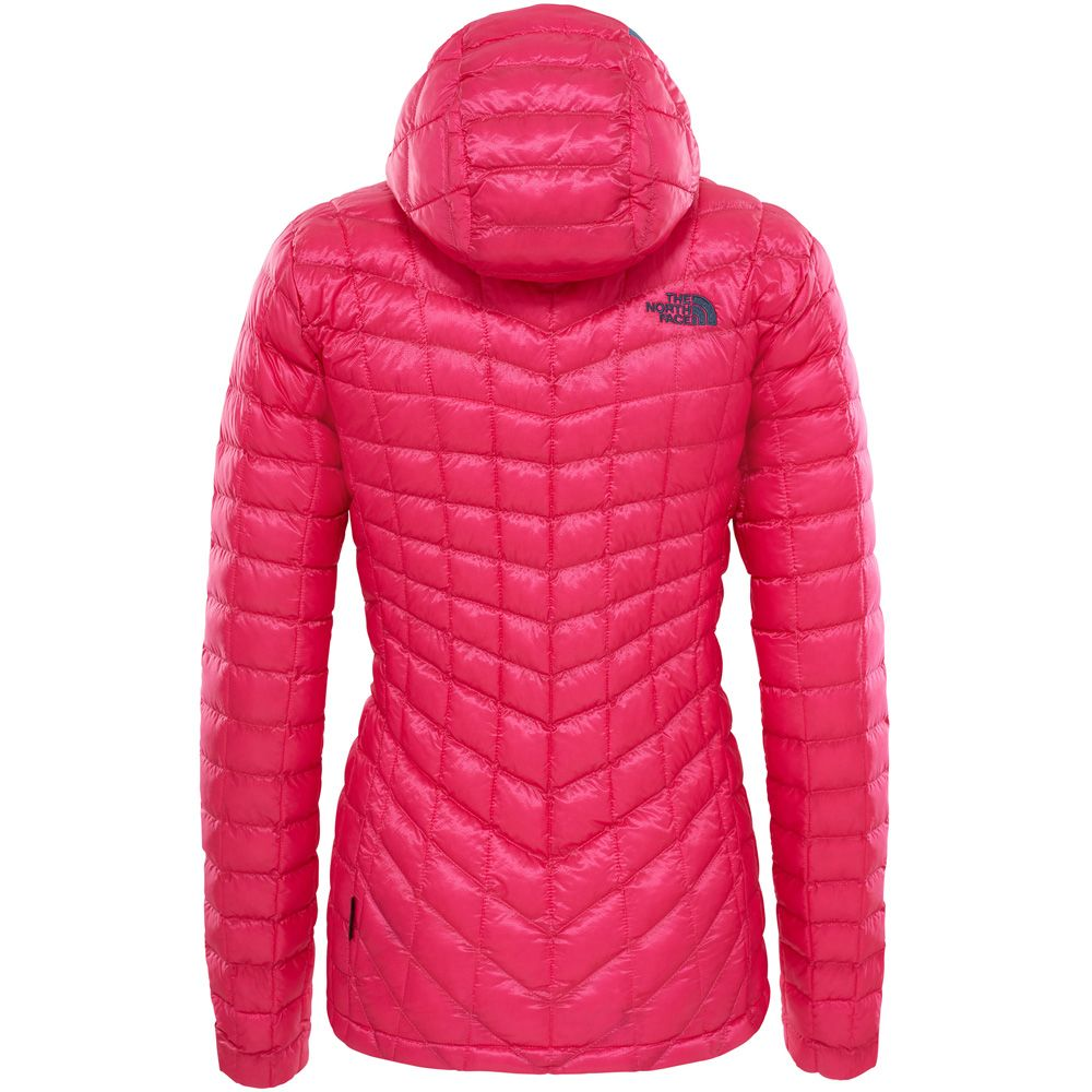 Winterjacke The North Face Thermoball Hoodie Petticoat Pink Damen