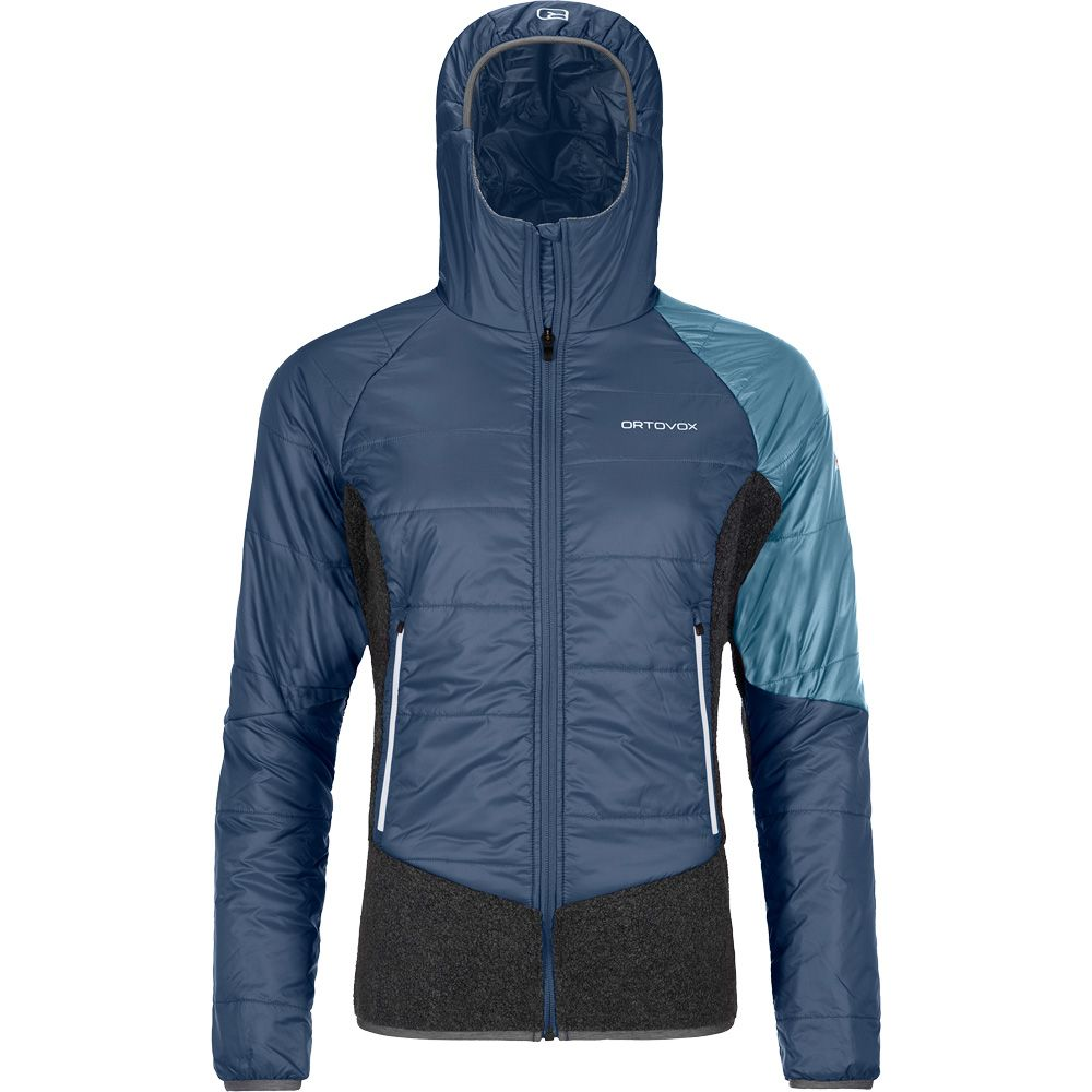 Swisswool Piz Zupo Isolationsjacke Damen night blue