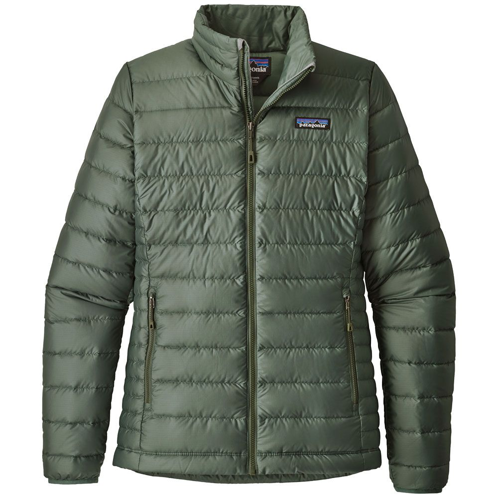 Patagonia Down Sweater Down Jacket Women pesto at Sport