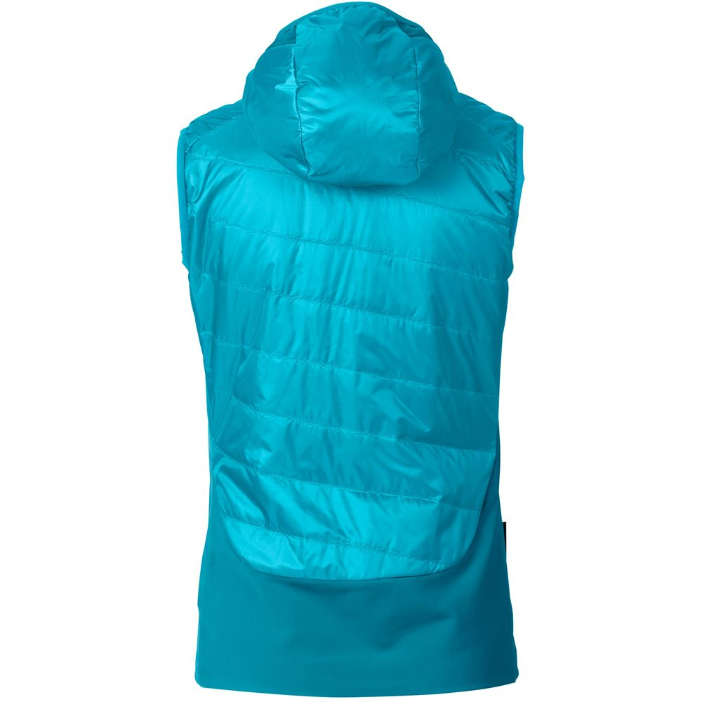 reputable site a2fab 366f9 VAUDE - Freney Hybrid Vest Women cyan