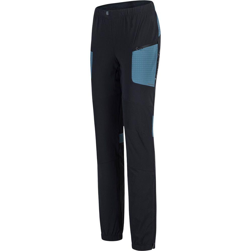 Ski Style Softshellhose Damen nero blu cenere