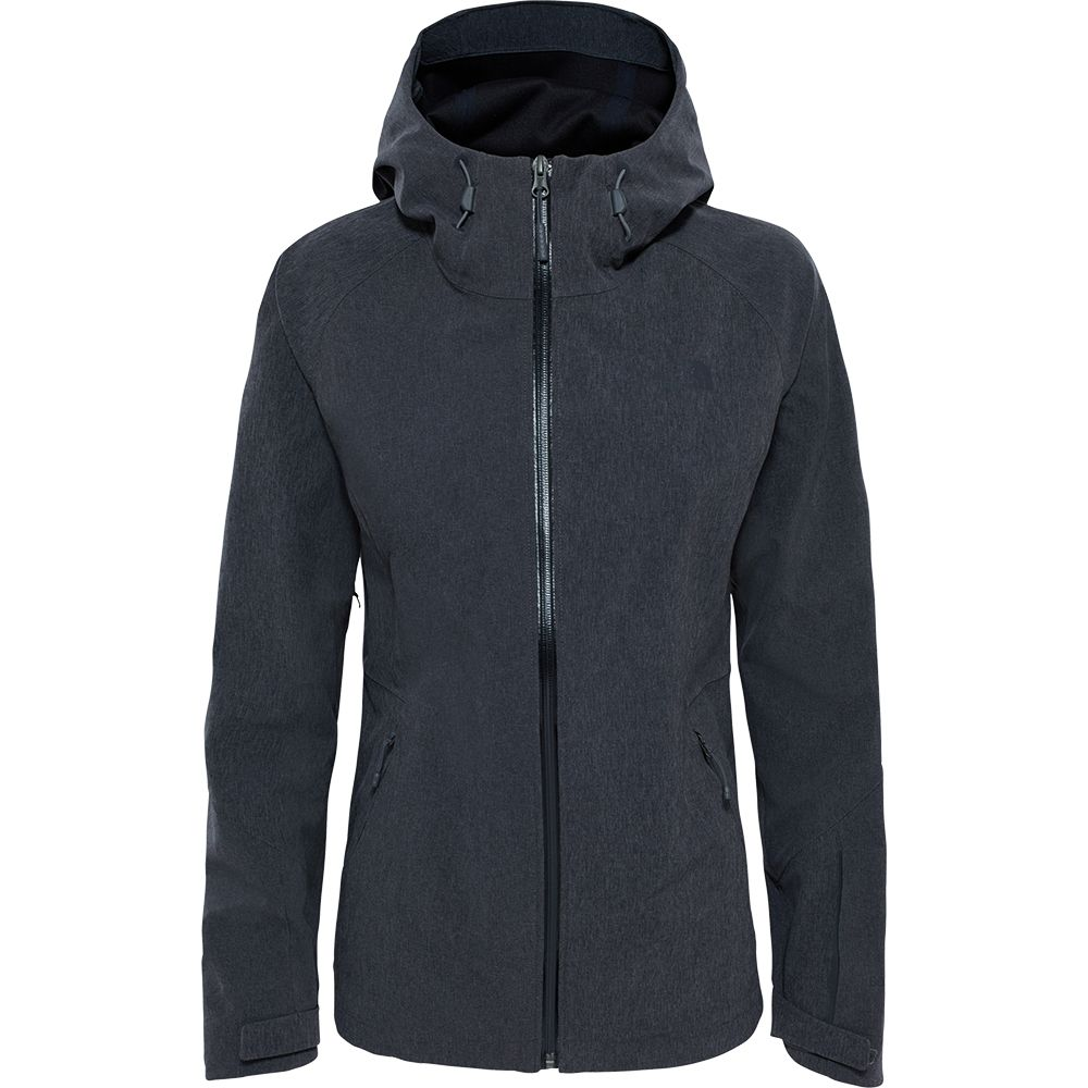 Apex Flex Softshell GTX® Jacke Damen dark grey heather