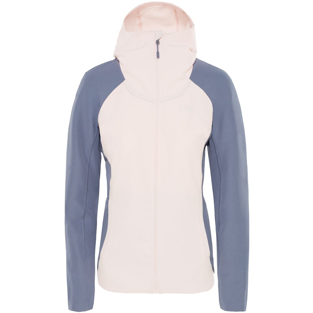 a05cdc5e38 The North Face® - Invene Softshell Jacket Women pink salt grisaille ...